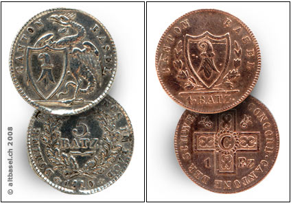 Basel Und Seine Münzen