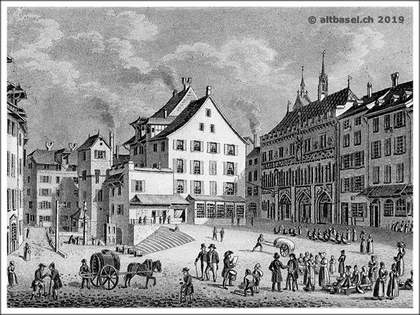 der kornmarkt um 1640